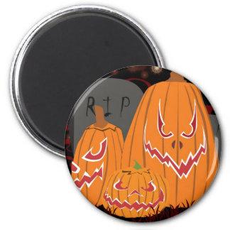 3 Pumpkin Customizable Magnet