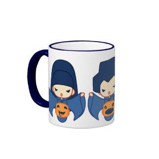 3 pumpkins mug