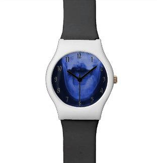 3 radiografiados - Azul de Elecromagnetic Relojes