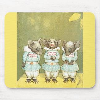 3 ratones ciegos alfombrillas de raton