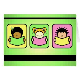 3 Readers Card