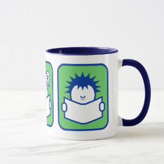 3 Readers Mug