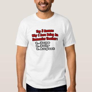 3 Reasons I Love Being an Econ Teacher T-Shirt