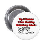 3 Reasons I Love Teaching Elementary School Pinback Button