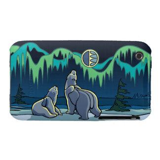 3 regalos árticos del arte del niño del caso del o iPhone 3 Case-Mate carcasas