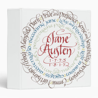 3-Ring Binder - Jane Austen Period Dramas