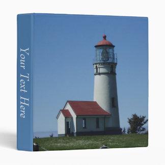 3 Ring Binder--Lighthouse 3 Ring Binder