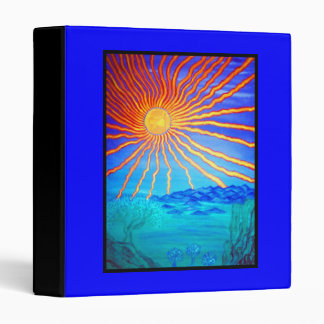 3 Ring Binder-Rays of Life 3 Ring Binder