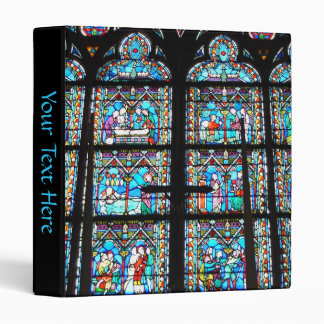 3 Ring Binder--Stained Glass Windows Binder