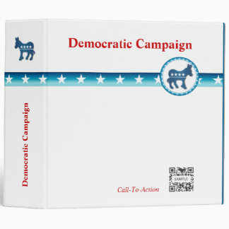 3 Ring Binder Template Democratic Donkey