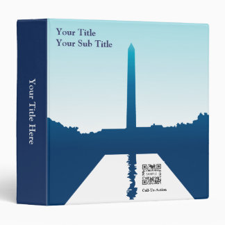 3 Ring Binder Template National Monuments