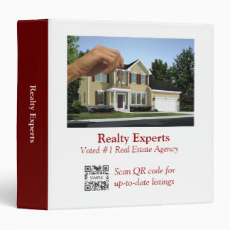 3 Ring Binder Template Realty Experts