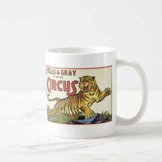 3 Ring Circus - circa 1930 Coffee Mug