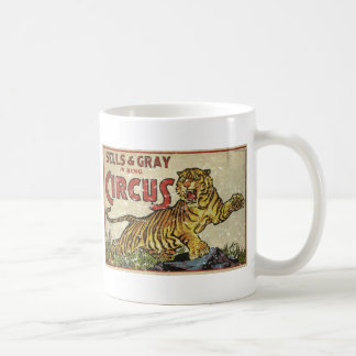 3 Ring Circus - circa 1930 distressed Coffee Mug