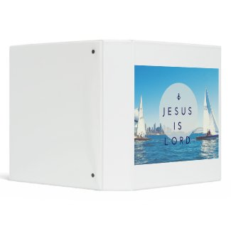 3 Ring Jesus is Lord Ring Binder