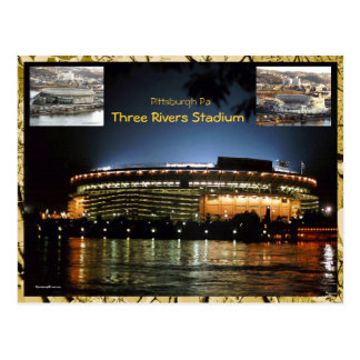 3 Rivers Stadium Postcard