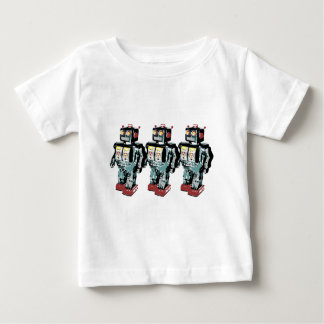 3 Robots Baby T-Shirt
