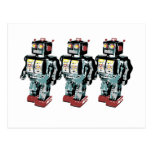 3 Robots Postcards