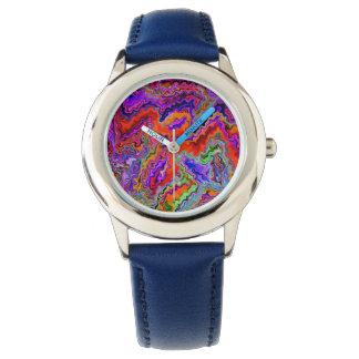 3 rojo feliz (c) relojes de pulsera
