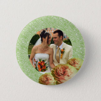 3 Roses Button