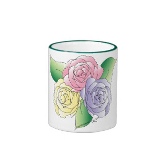 3 Roses Mug