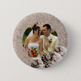 3 Roses Pinback Button