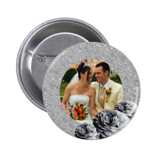3 Roses Pinback Buttons
