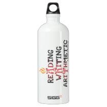 3 R's Gets An A Aluminum Water Bottle