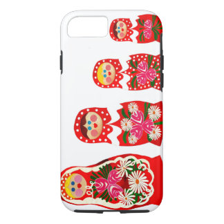 3 Russian Dolls BABUSHKA iPhone 7 Case