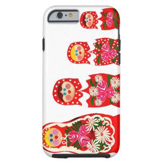 3 Russian Dolls BABUSHKA Tough iPhone 6 Case