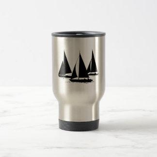 3 Sailboats Travel Mug