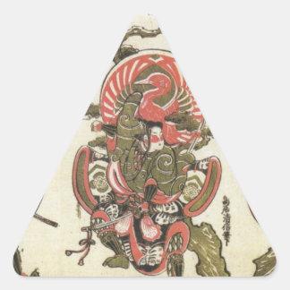 3 Samurai Triangle Sticker