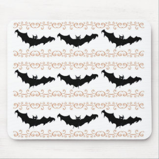 3 Scary Bats Mouse Pads