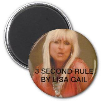 3 segundos imanes de la regla imán redondo 5 cm