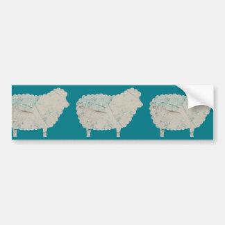 3 sheeps bumper sticker