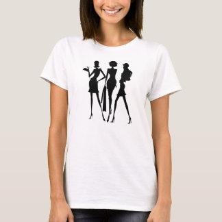 3 Shopping Women Friends T-Shirt