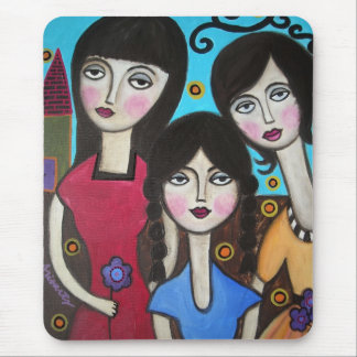 3 SISTERS MOUSE PAD