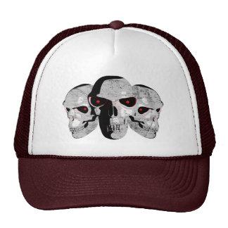 3 Skulls Trucker Hat