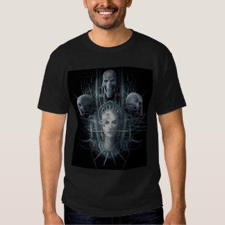 3 Skulls One woman T-shirts