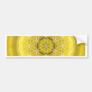 3 Solar Plexus Chakra created by Tutti Bumper Sticker