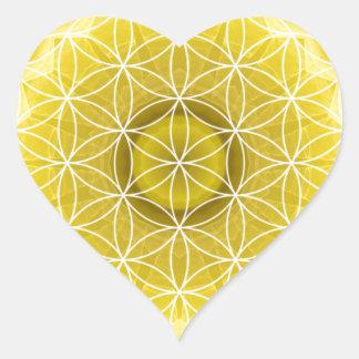 3 Solar Plexus Chakra created by Tutti Heart Sticker