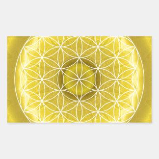 3 Solar Plexus Chakra created by Tutti Rectangular Sticker