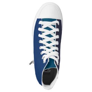 3 sombras de zapatos azules zapatillas