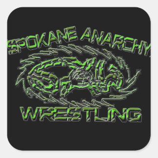 """3"""" Spokane Anarchy Wrestling Logo Sticker"""