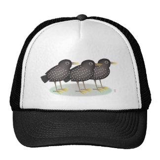 3 starlings gorro de camionero