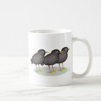 3 starlings taza