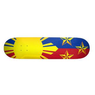 3 Stars and Sun Philippines (Skateboard) Skateboard Deck