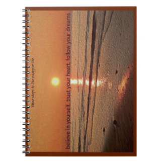 3 Steps to Live a Happier Life School Notebook
