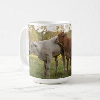 3 Stooges Cows Coffee Mug