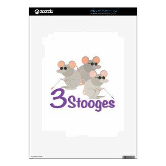 3 Stooges iPad 2 Skins